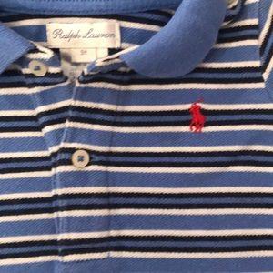Ralph Lauren shirt sleeve polo 9 months